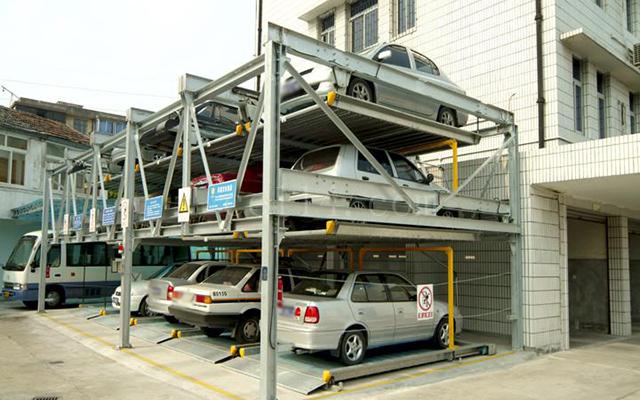 龍巖升降橫移類立體停車設備