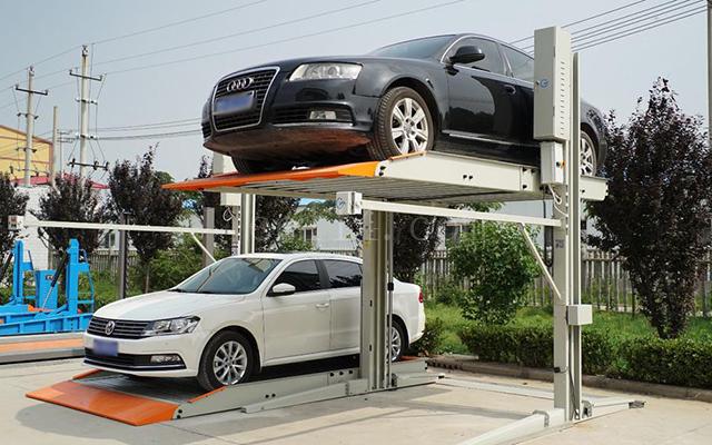 龍巖簡易升降類立體停車設備