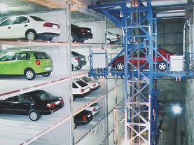 巷道堆垛类立体停车设备