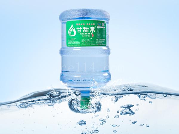 大桶裝天然礦泉水17.8L/桶