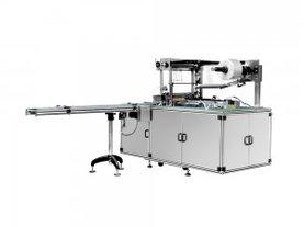面膜盒三维透明膜包装机