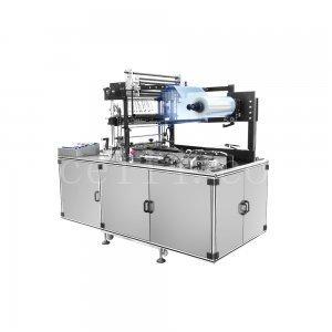 化妆品盒透明膜包装机