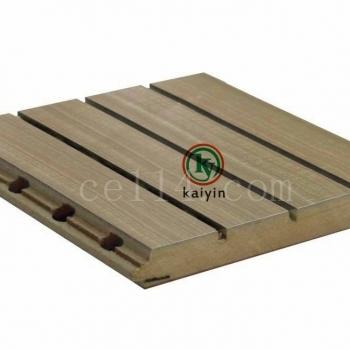 普通基材槽木吸音板