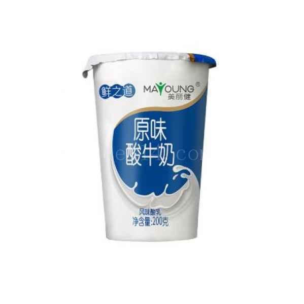 杭州美丽健酸牛奶