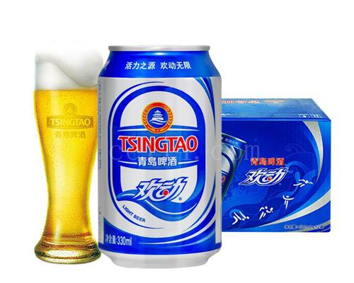 安溪青岛啤酒欢动