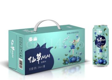 漳州泰山仙草蓝莓味