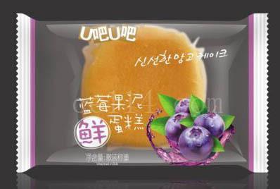 漳州蓝苺果泥蛋糕