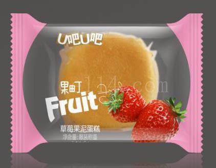 漳州草苺果泥蛋糕