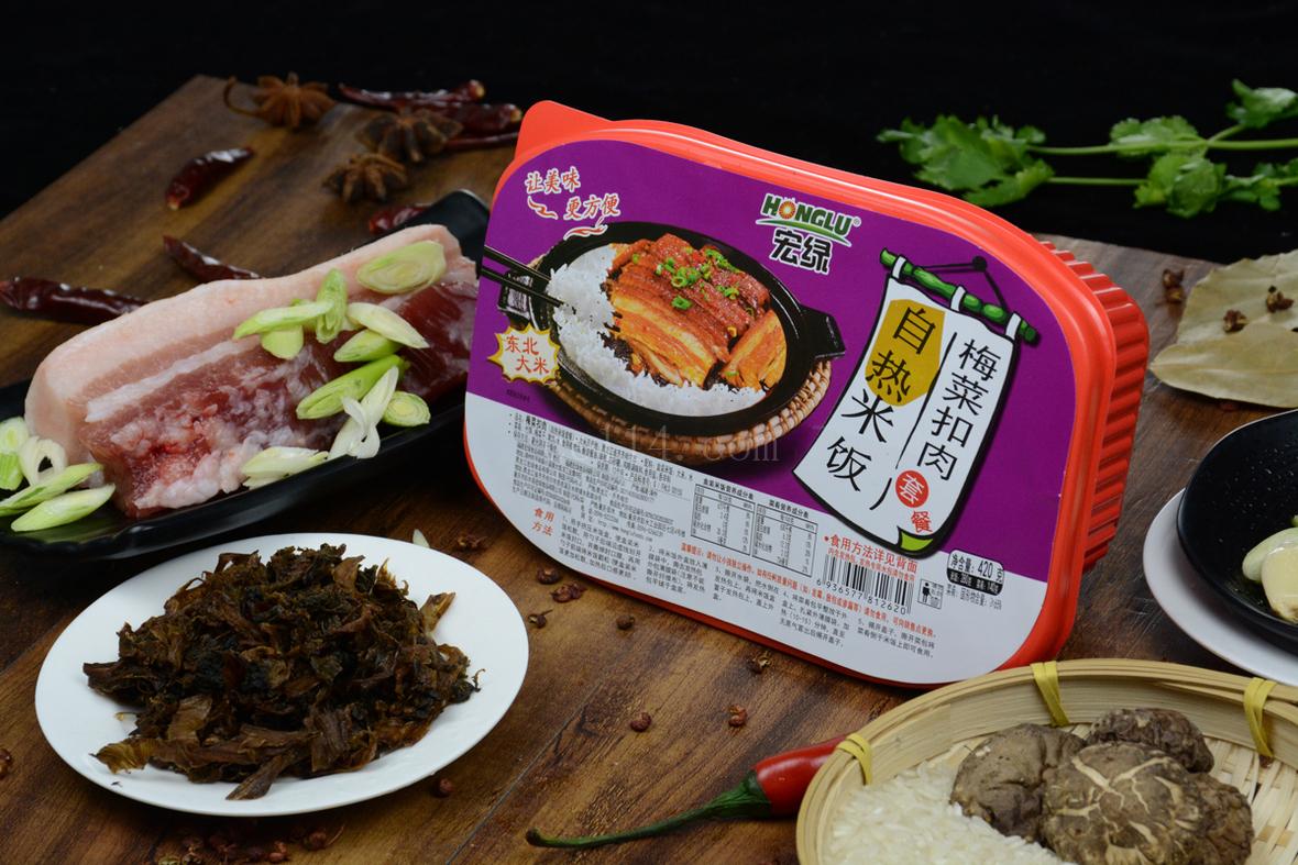 漳州宏綠自熱米飯-梅菜扣肉