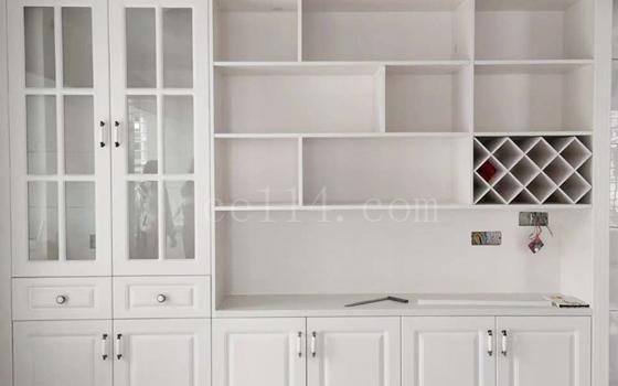 龙岩白色整体橱柜