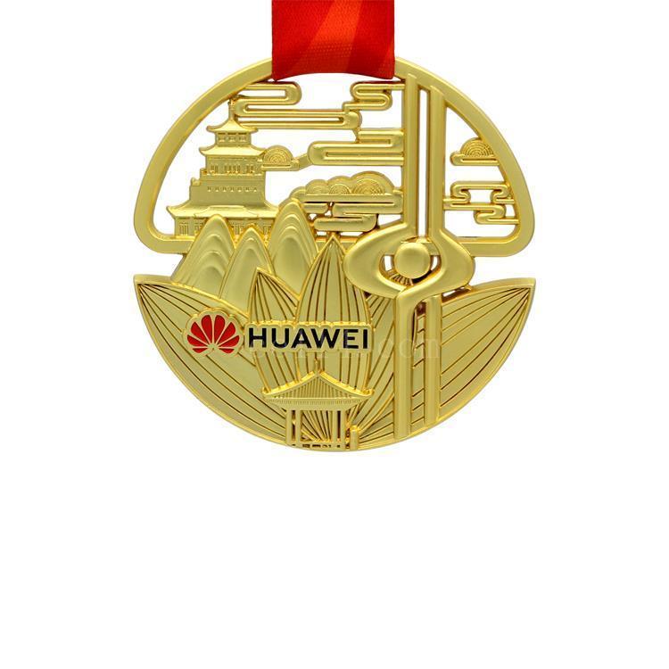 广东比赛金属上色奖牌
