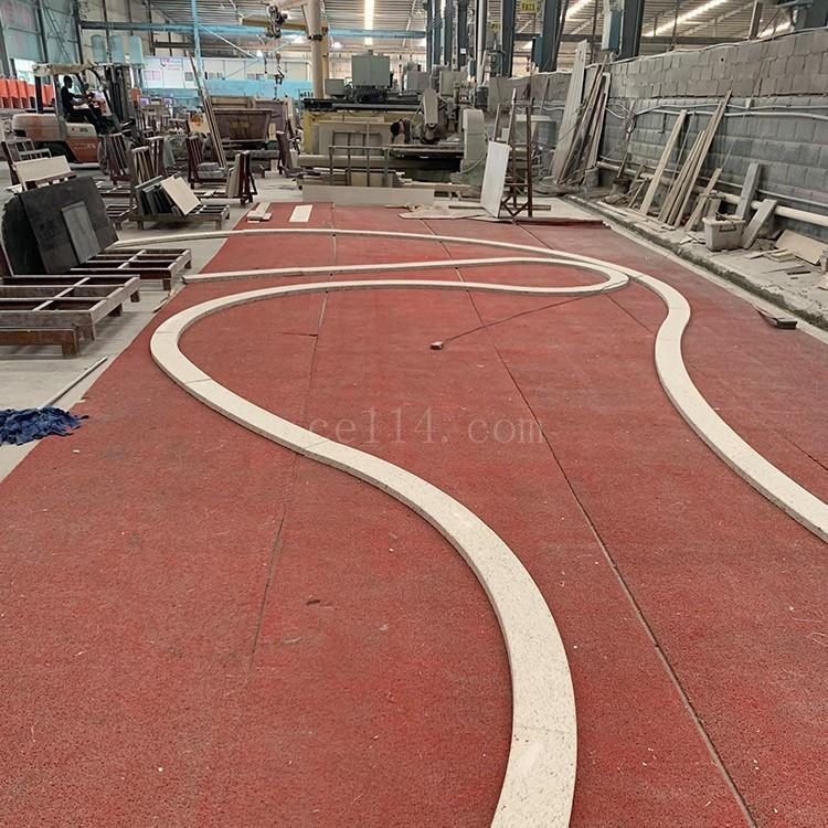 漳州黄锈石弧形板