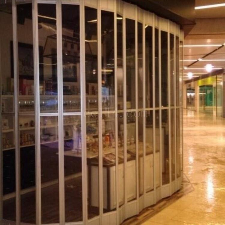 泉州門店抗風卷閘門