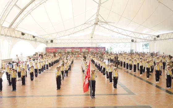 龙岩登龙文化夏令营开营仪式
