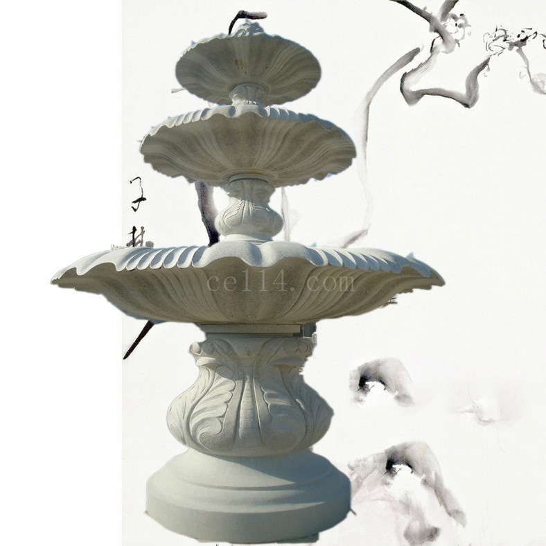 泉州戶外園林裝飾水缽噴泉石雕批發