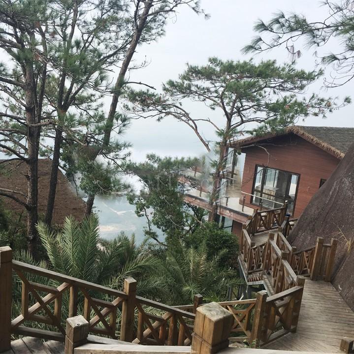 漳州天柱山轻钢度假屋项目