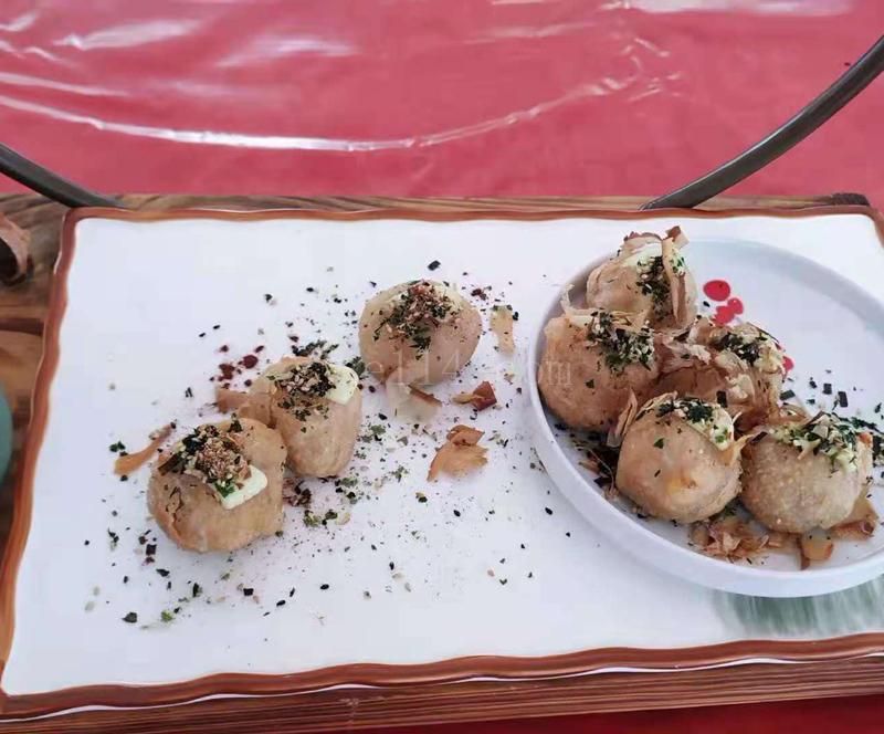 长汀海苔碎芋饺(福建长汀县汀城食品有限公司)