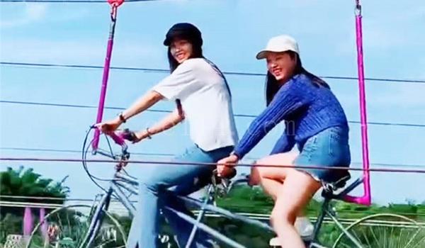 德化桃仙溪旅游景区空中自行车