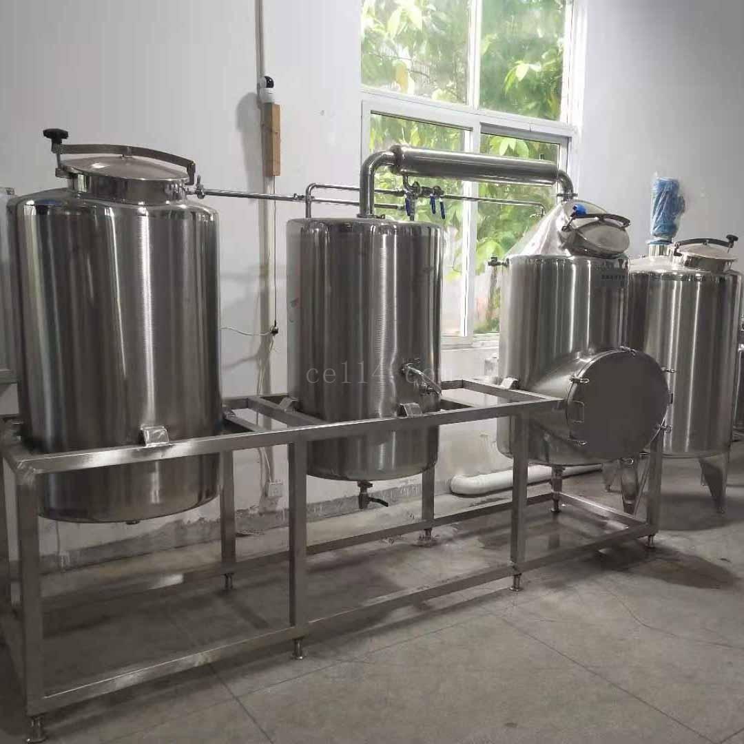 龙岩蒸汽式酿酒机械生产