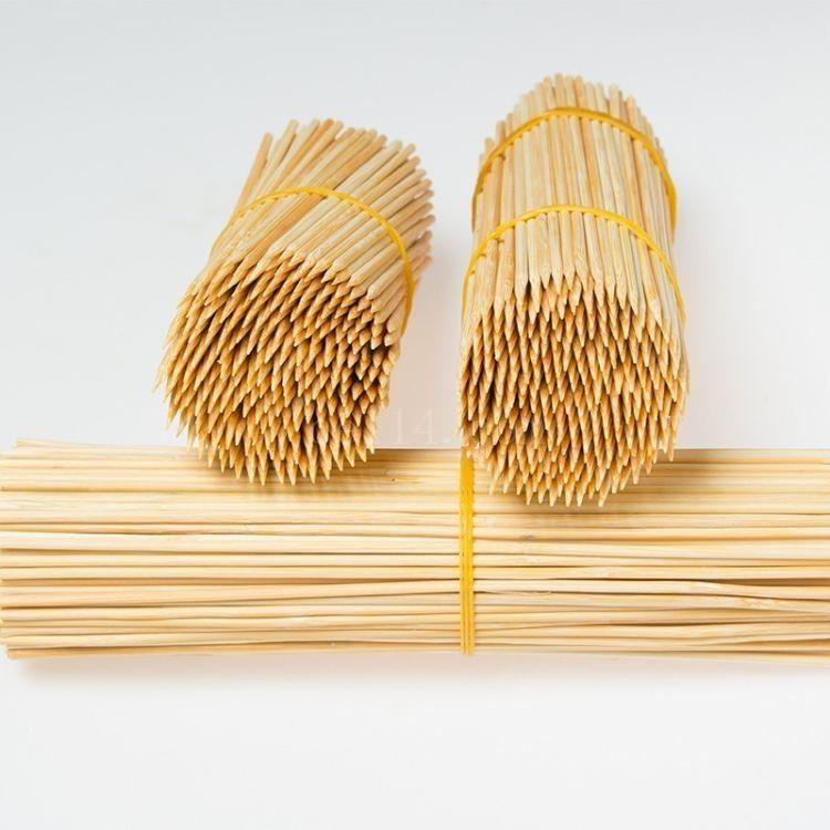 龙岩烧烤竹签直销