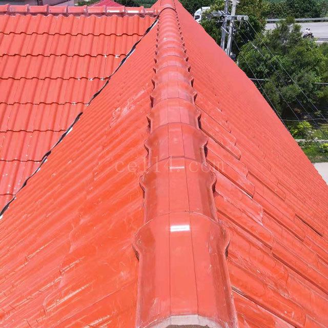 龙海钢结构琉璃瓦批发厂家