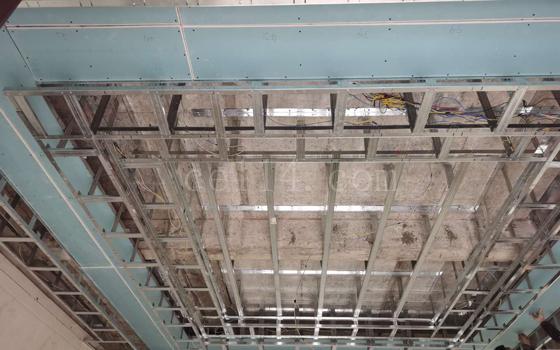 长汀轻钢吊顶施工图