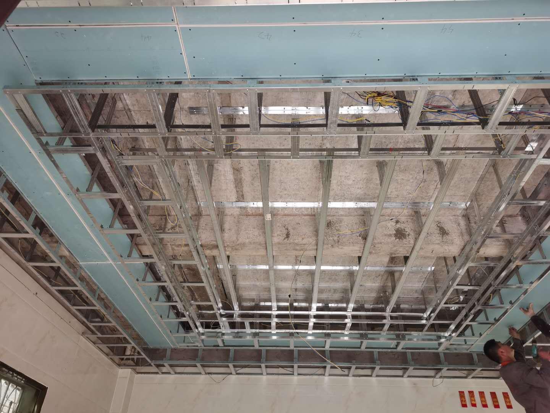 龙岩轻钢吊顶施工图