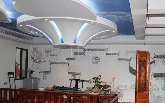 长汀中唐装饰吊顶案例图
