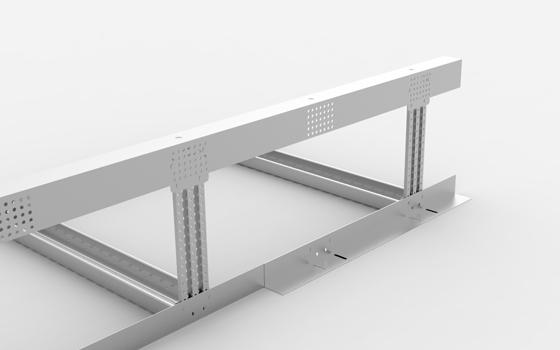 长汀吊顶安装龙骨造型图