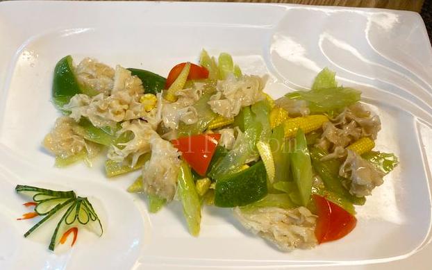 漳州素食主题餐厅炒绣球菌
