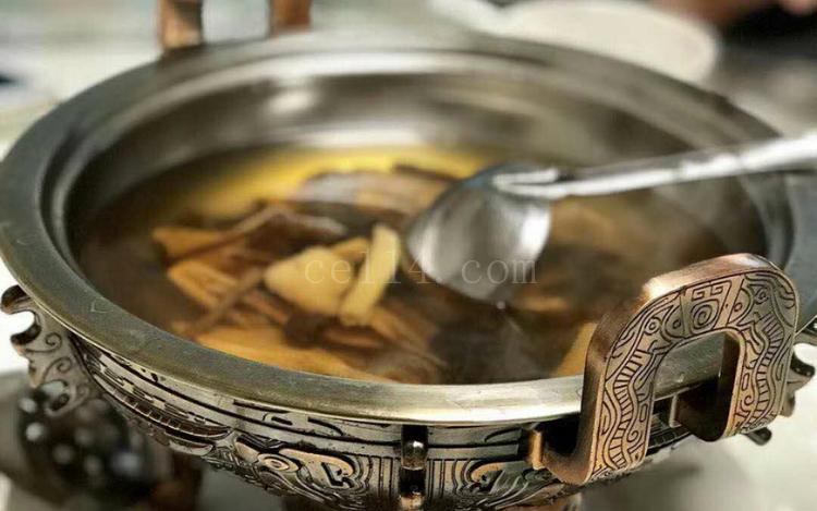 漳州素食主题餐厅杂菇汤