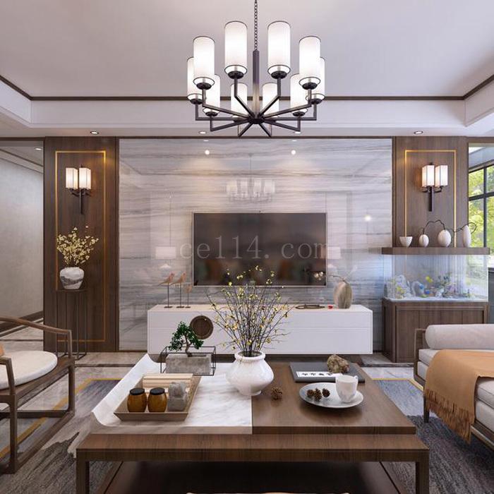 龙岩中式风格客厅欣赏