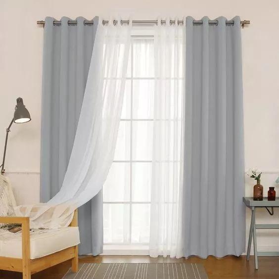 卧式窗帘选择什么样好?窗帘挑选这些技巧一定要知道