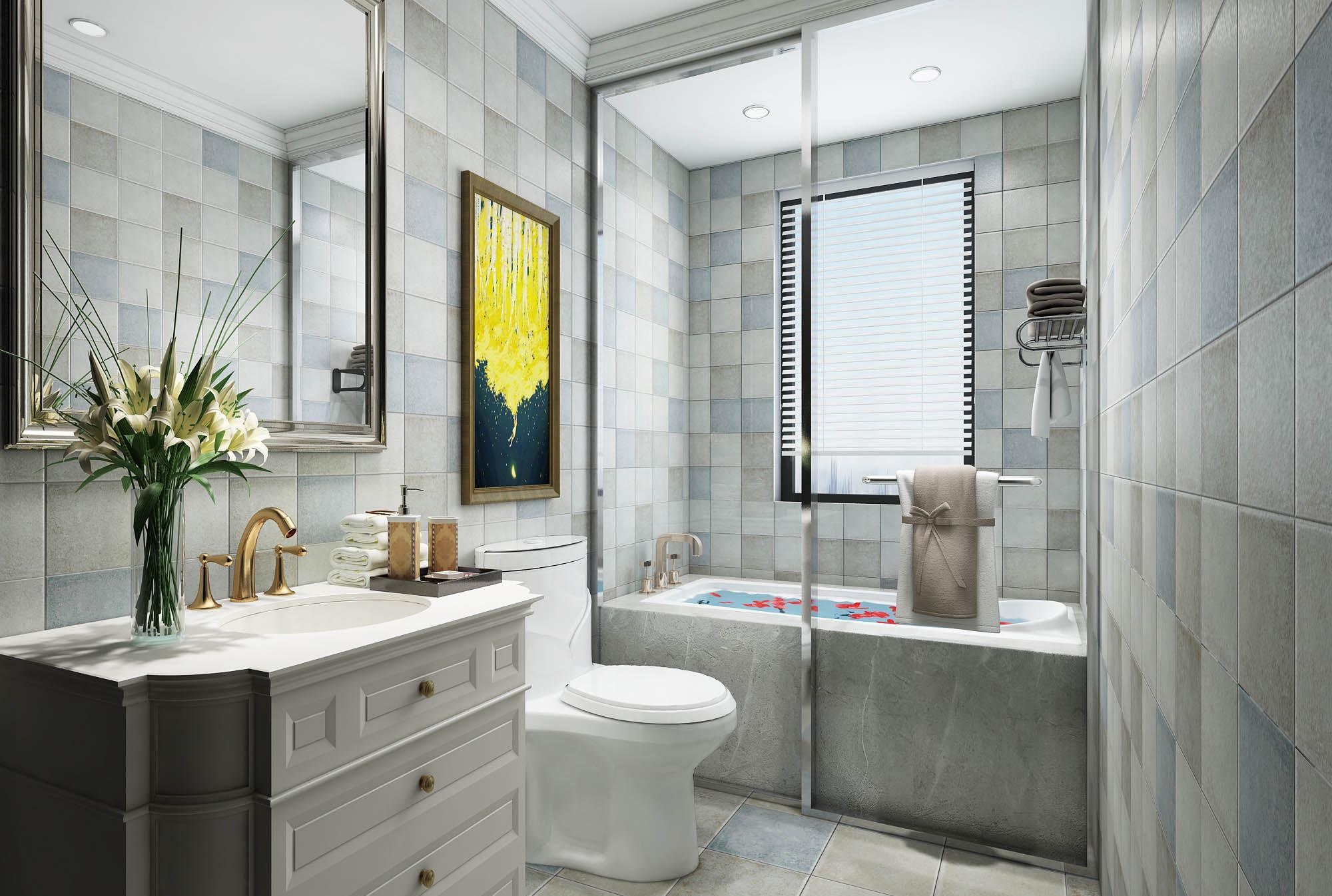卫生间装修注意什么?4个小户型卫生间装修,好看又省空间!