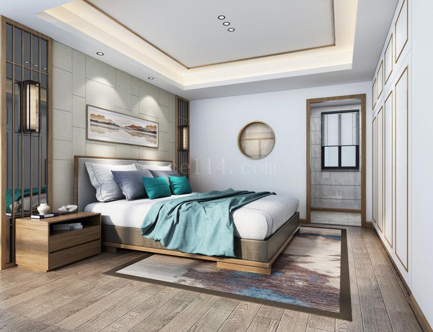 龙岩中式风格卧室