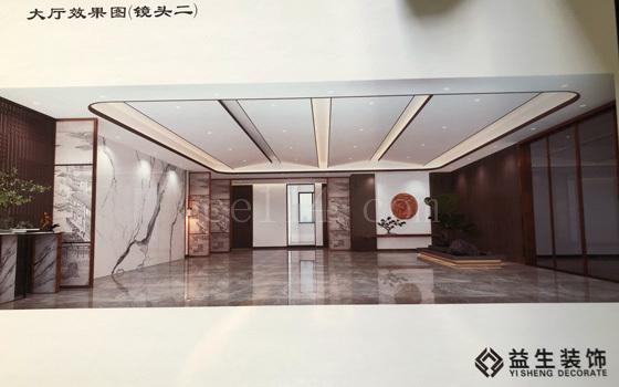 龙岩建筑装饰公司_大厅效果图