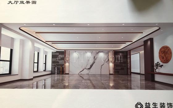 龙岩装饰工程公司_大厅效果图