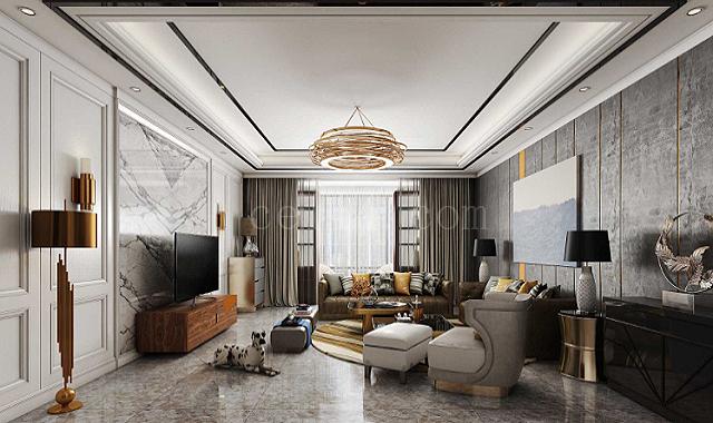 客厅现代装饰风格