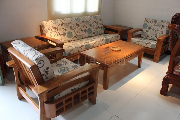 木质布艺沙发