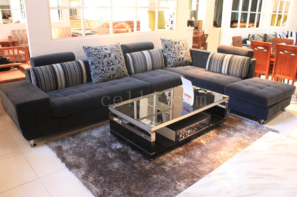 简单风格布艺沙发