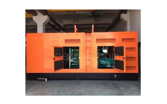 龙岩发电机组销售玉柴500kw静音型