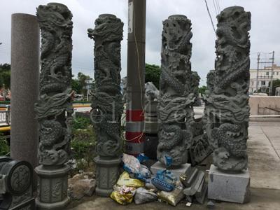 龙岩广场风景石展示