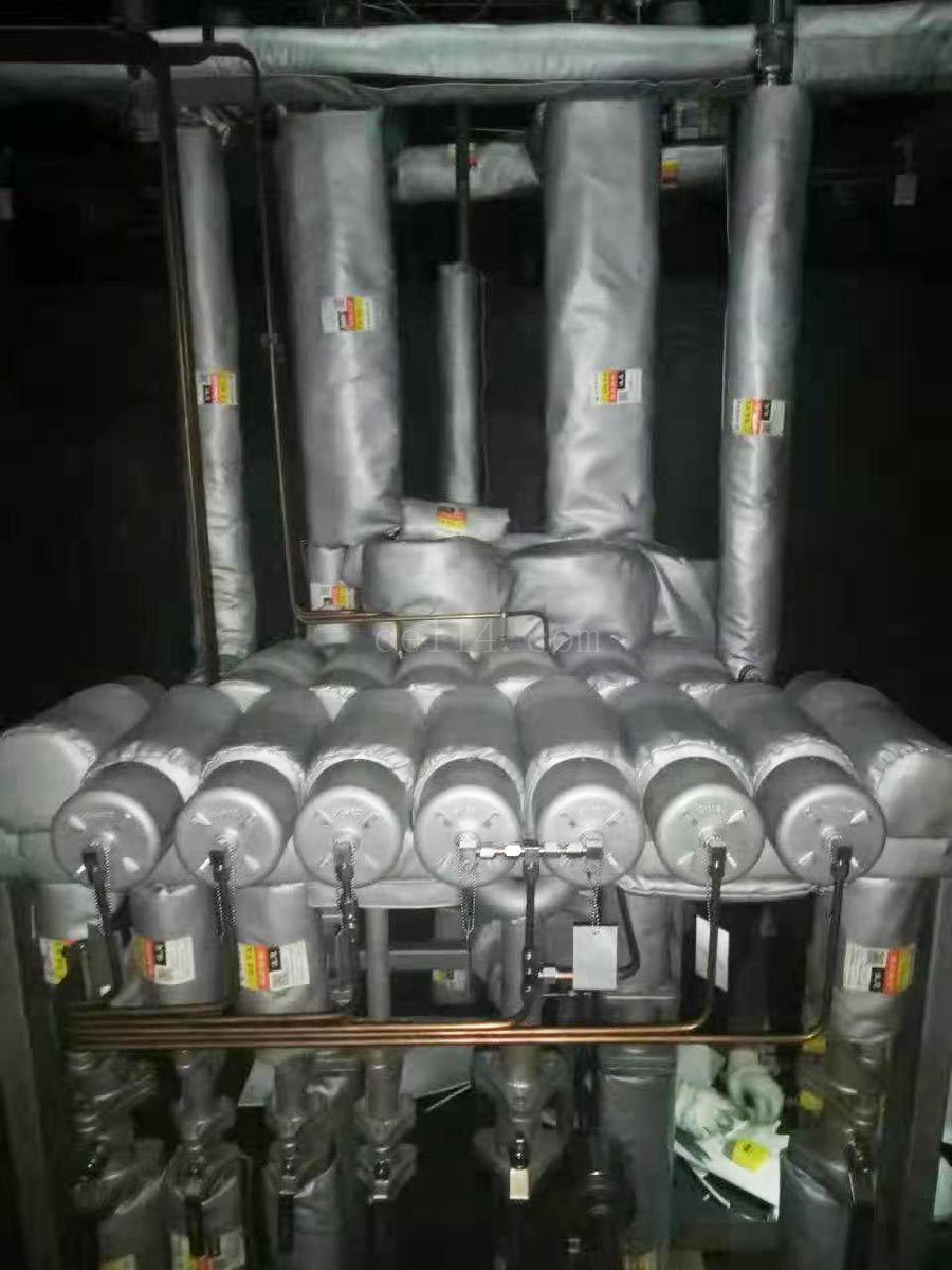 龙岩硫化机保温套案例