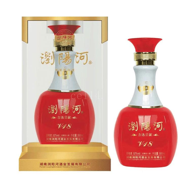 浏阳河酒古法贡藏V18_龙岩浏阳河酒业