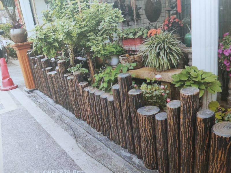 龙岩仿木纹水泥栏杆批发