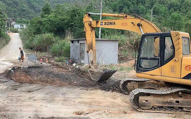 龙岩挖掘机租赁