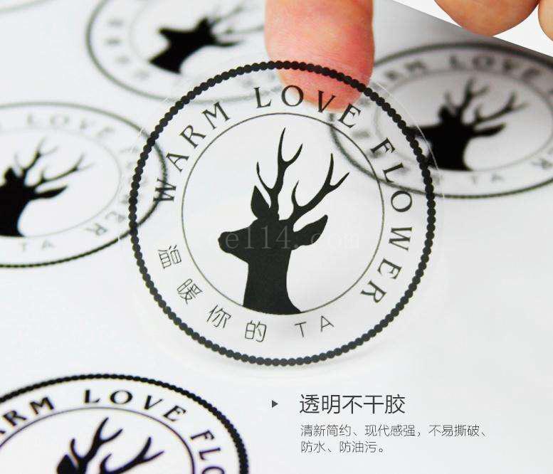 漳州透明不干胶印刷